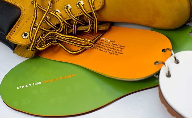 Timberland Brand Brochure