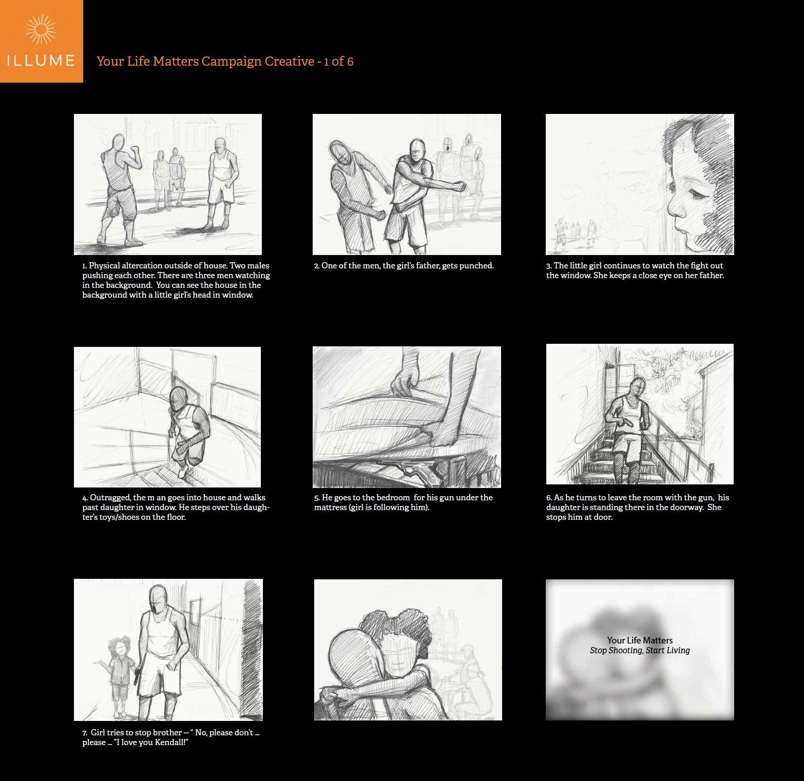 Your Life Matters - Story Board